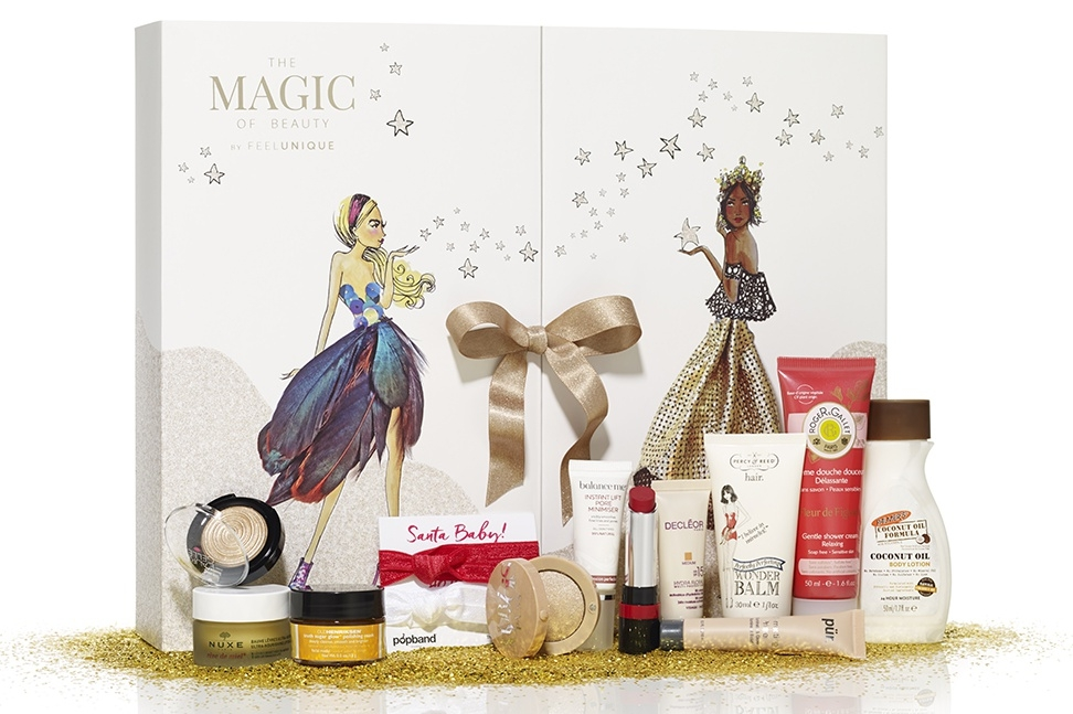 Feel Unique Advent Calendar - The Magic of Beauty 2016 content