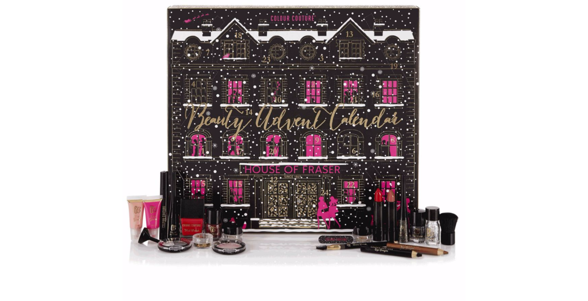 House of Fraser Advent Calendar - Colour Couture 2016 content