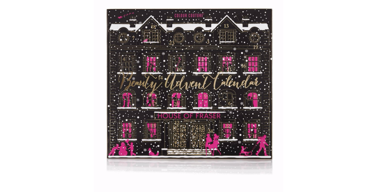 House of Fraser Advent Calendar - Colour Couture 2016