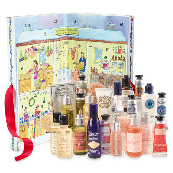 L'Occitane Advent Calendar 2016 content