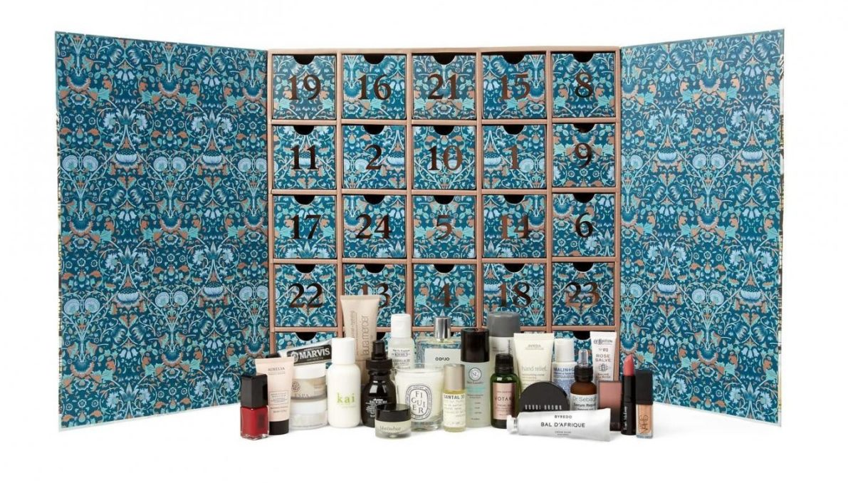 Liberty London Advent Calendar 2016 content