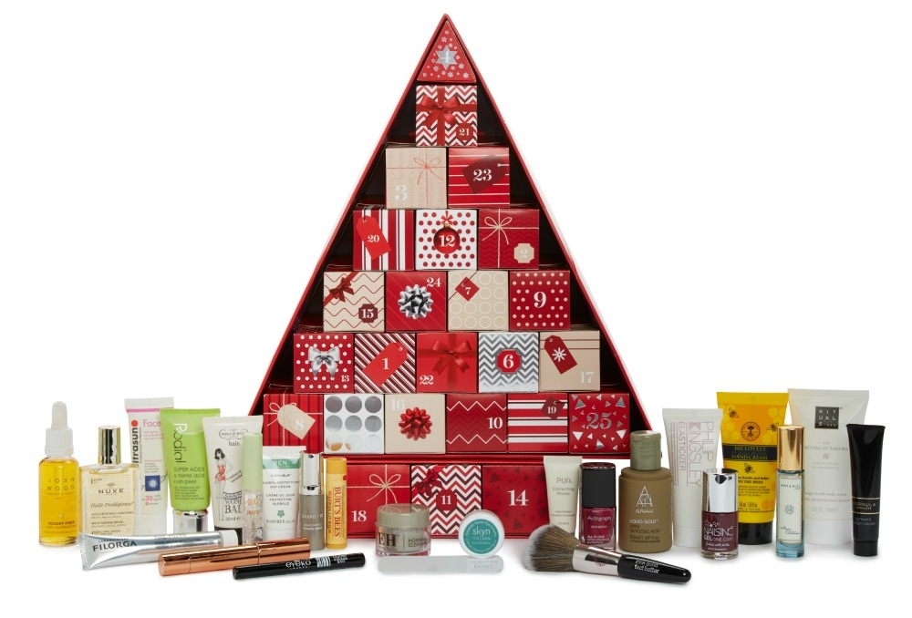 Marks & Spencer Advent Calendar 2016 content