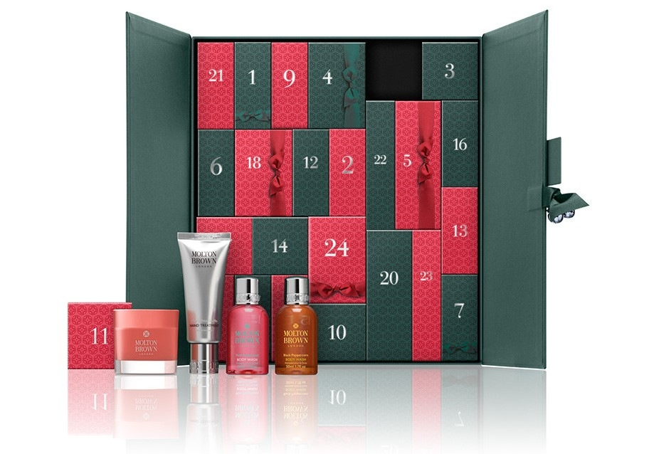 Molton Brown Advent Calendar - Scented Luxuries 2016 content