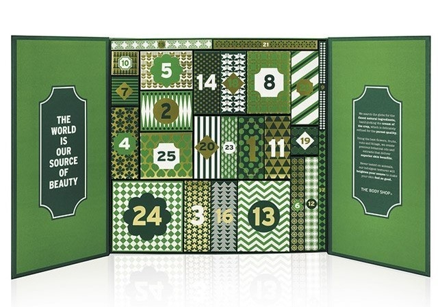 The Body Shop Advent Calendar 2016