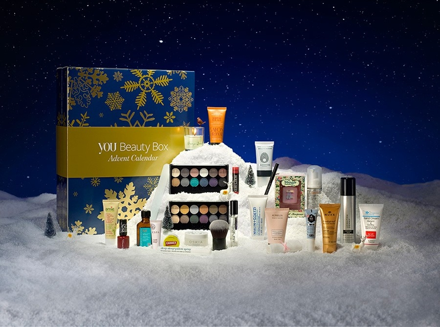 You Beauty Box Advent Calendar 2016 content