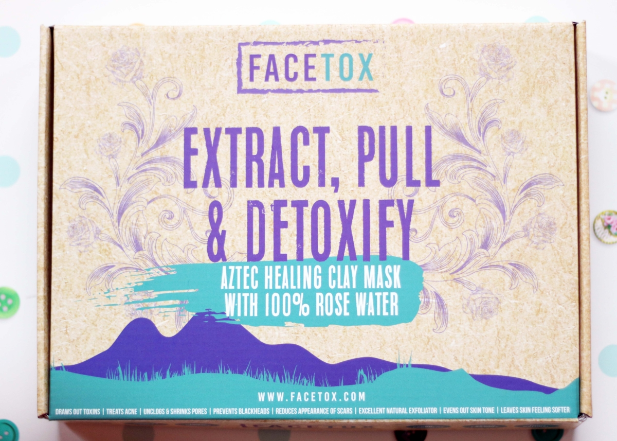 FaceTox Review - Organic, Cruelty Free, Vegan Face Mask