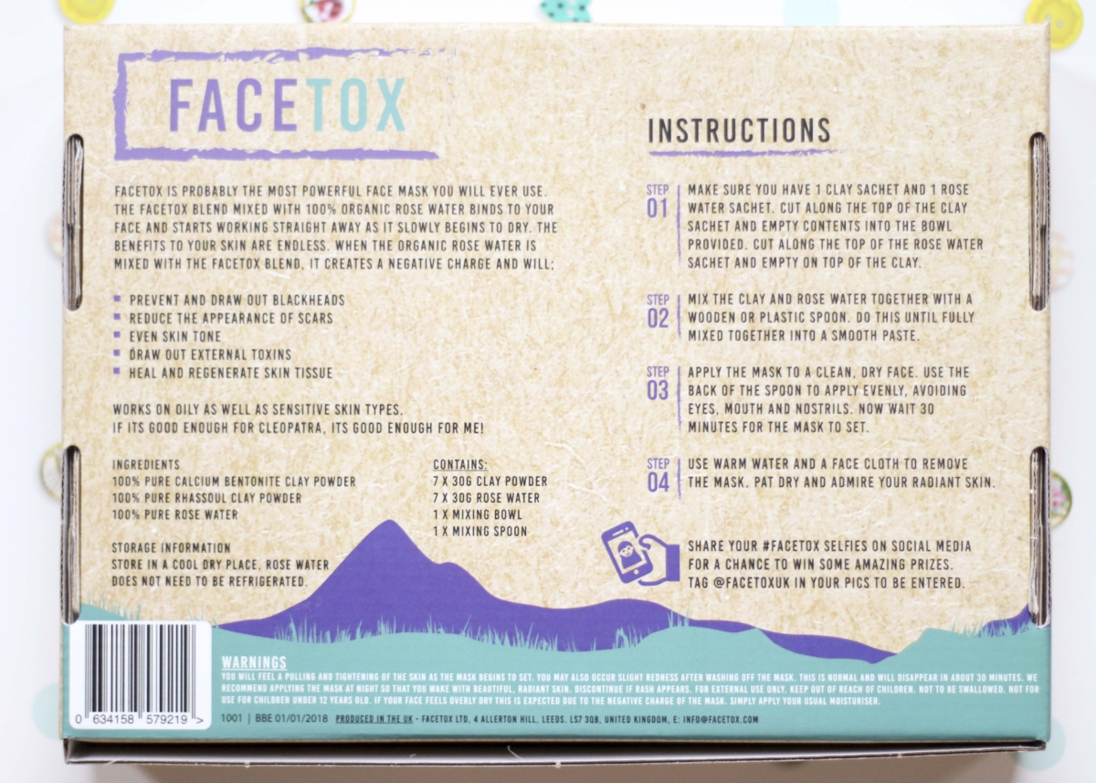 FaceTox Review - Organic, Cruelty Free, Vegan Face Mask (Application and Ingredients)