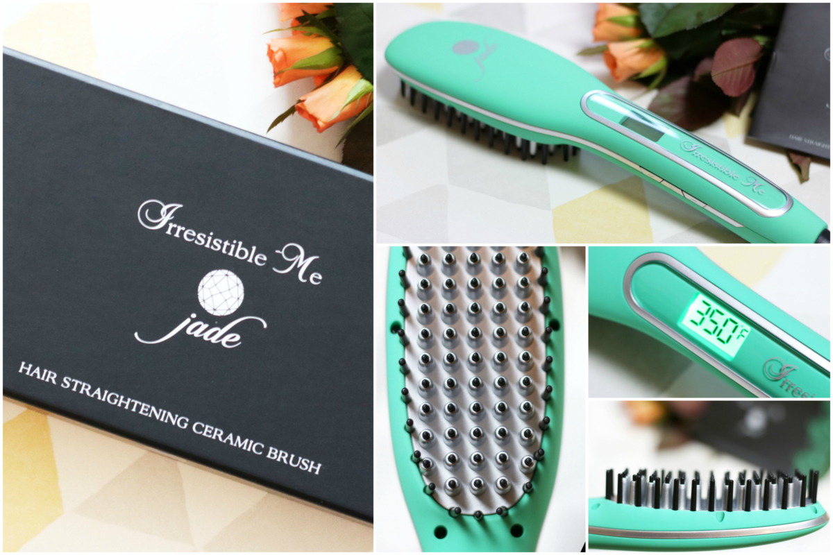 Irresistible Me Jade Hair Straightening Brush Review