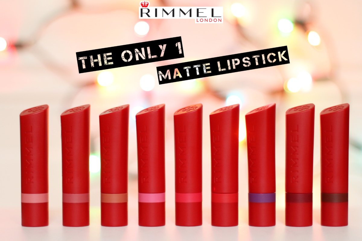 Rimmel London The Only 1 Matte Lipstick Review & Swatches