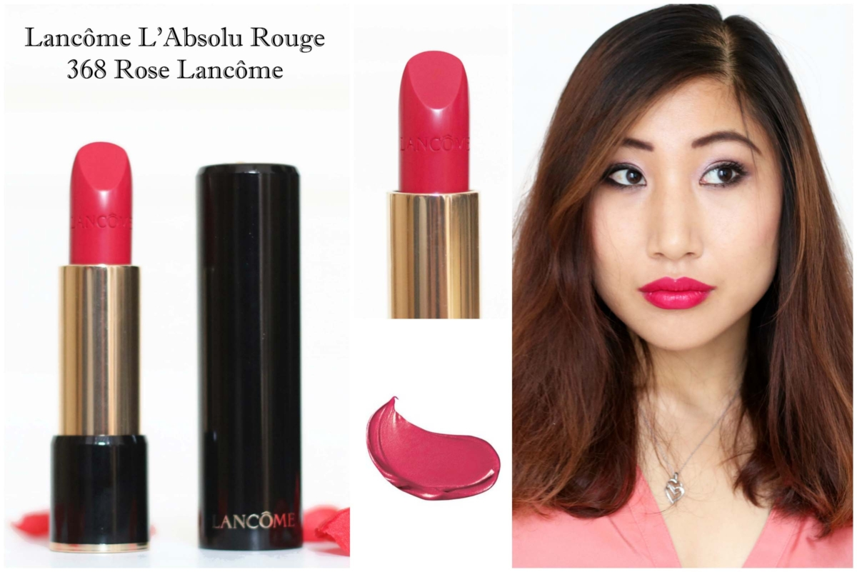 Beauty Swatch Book: Lancôme L'Absolu Rouge – 368 Rose Lancôme Review