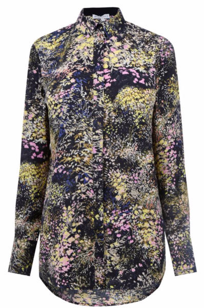 Warehouse Winter Floral Classic Shirt