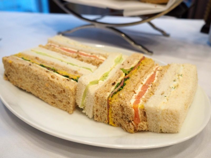 Afternoon Tea at Number Twelve Restaurant & Bar - Sandwich Fingers