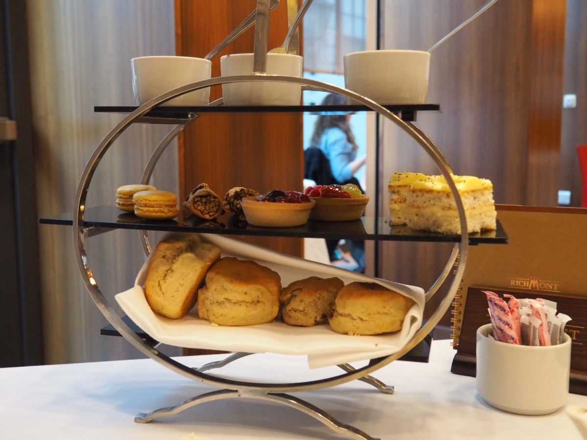 Afternoon Tea at Number Twelve Restaurant & Bar - Ambassador Bloomsbury Hotel
