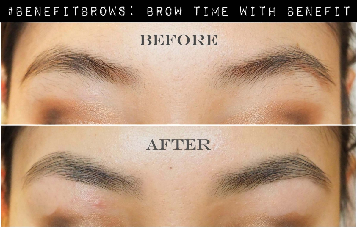 #BenefitBrows: Benefit Brow Bar Review - Before & After