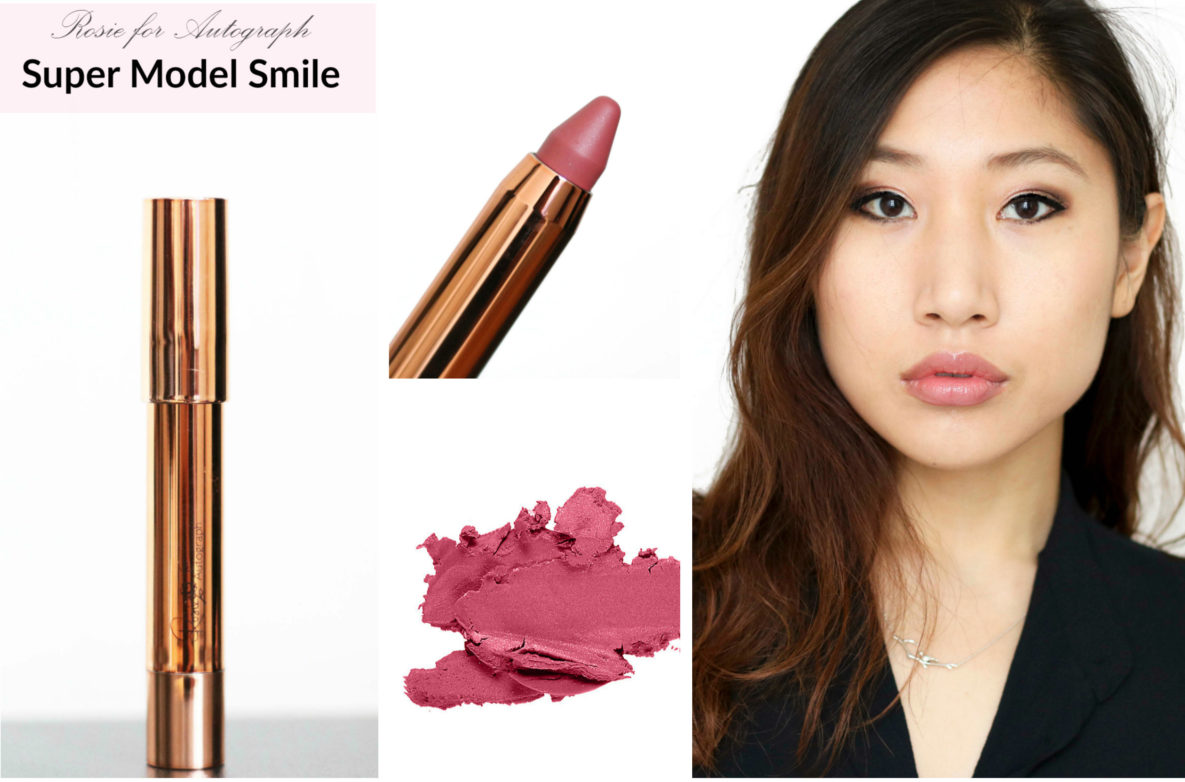 Beauty Swatch Book: Rosie for Autograph Lip Glossy in Super Model Smile