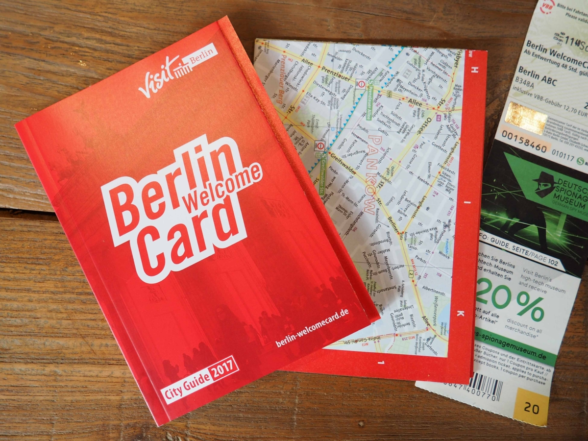 Travel Bloggers on Tour – 24 Hours in Berlin: Berlin Welcome Card