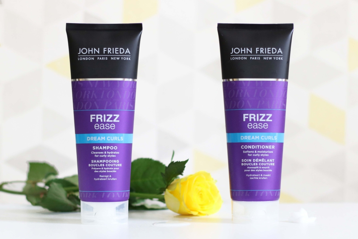 John Frieda Frizz Ease Dream Curls Shampoo & Conditioner Review