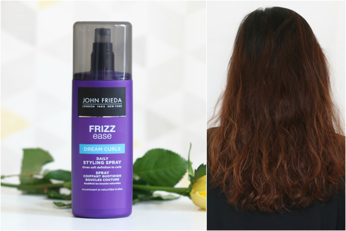 John Frieda Frizz Ease Dream Curls Daily Styling Spray Review