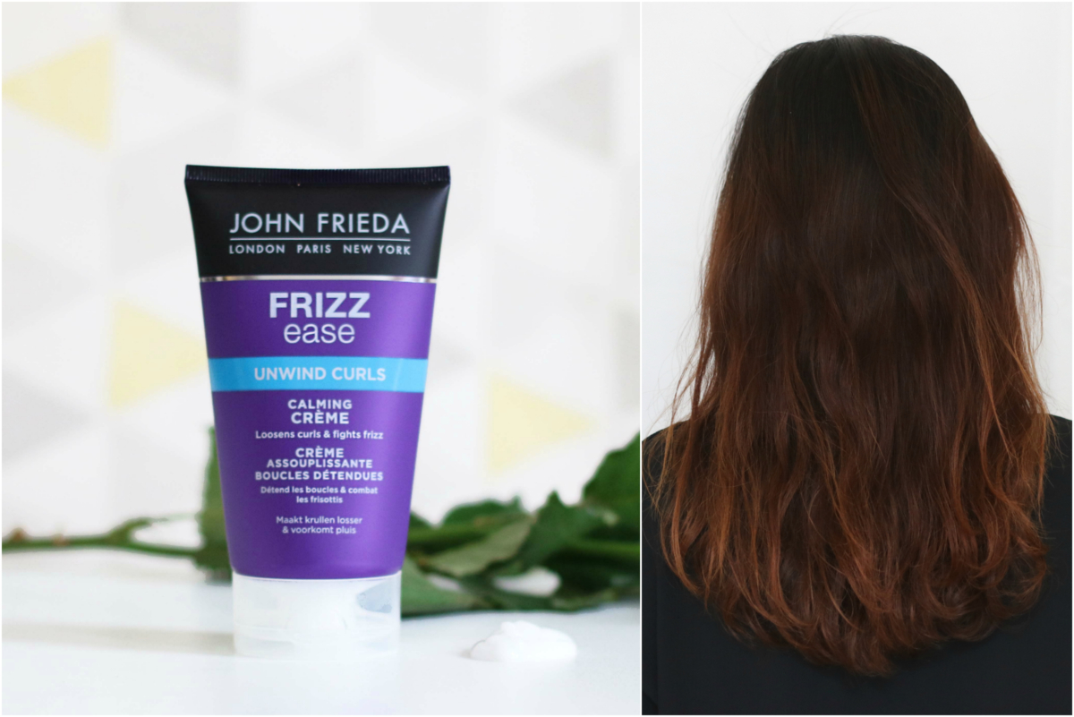 John Frieda Frizz Ease Dream Uwind Curls Calming Creme Review